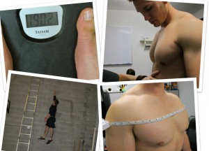 Part 1 - Measuring after Weight Gain