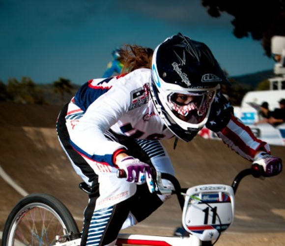 The four words that inspire BMX racer Alise Post