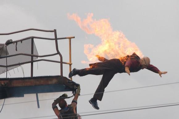 Stuntman In Action