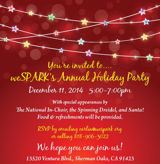 2014 Holiday Invite