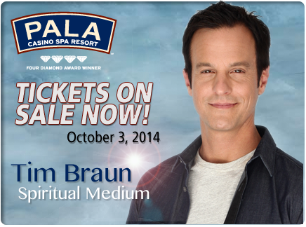 Pala Casino Spa Resort - Tim Braun - Spiritual Medium