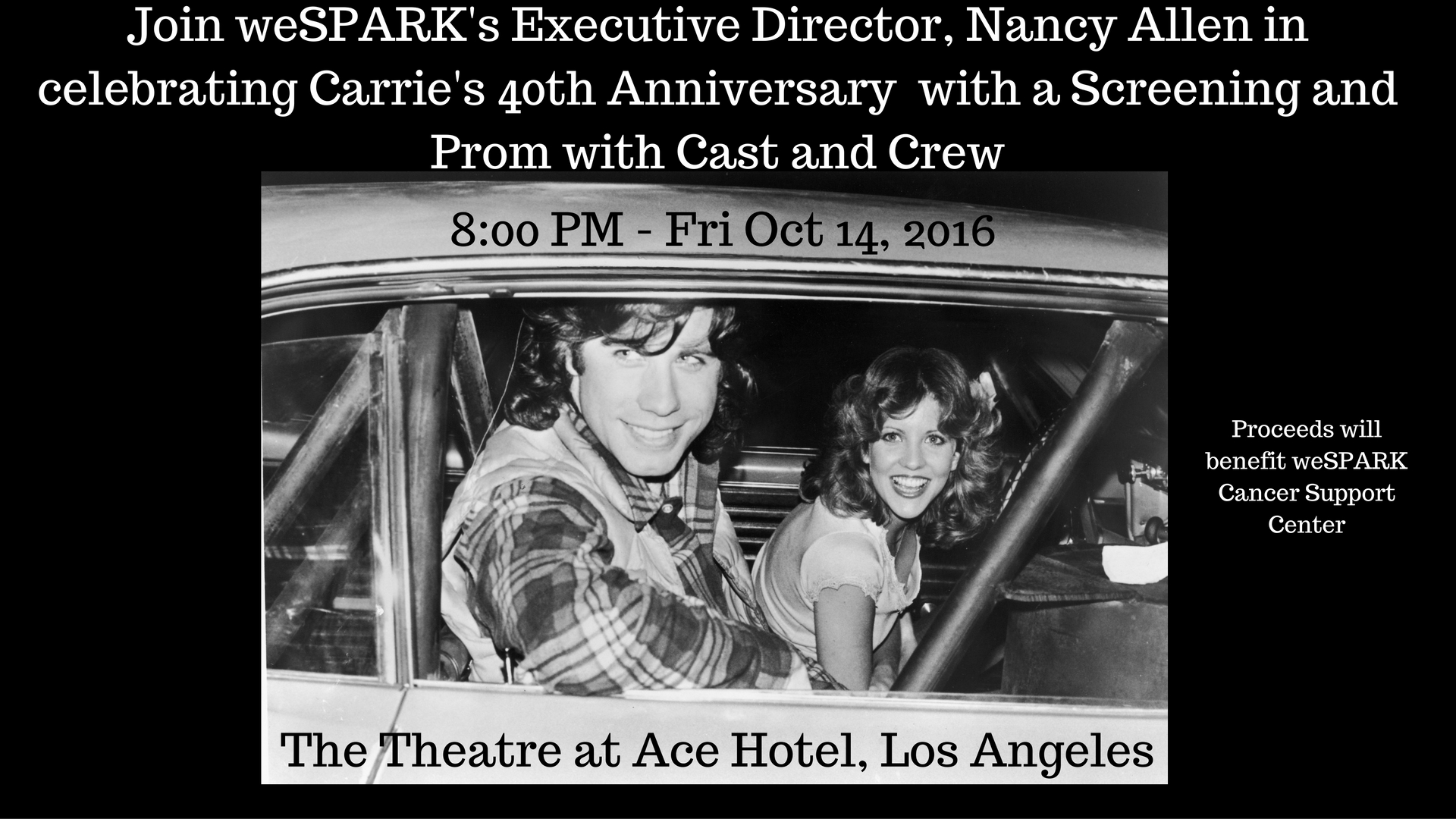 Carrie 40th Anniversary Screening and Prom with Cast and Crew(2)