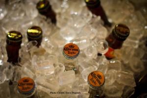 Corona Light Beer on Ice