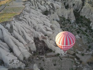 Turkey- HOT AIR BALLOON over Cappadocia