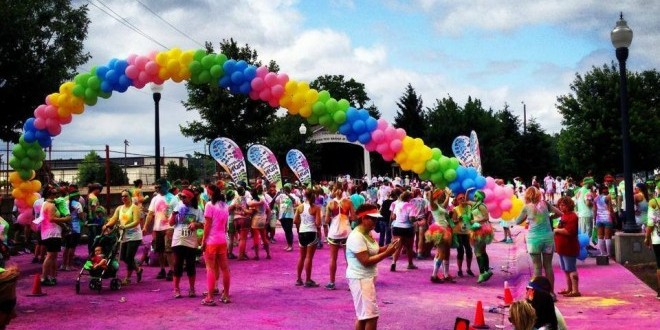 Brighten Up Your Next 5K: The Trend of Colorful Runs