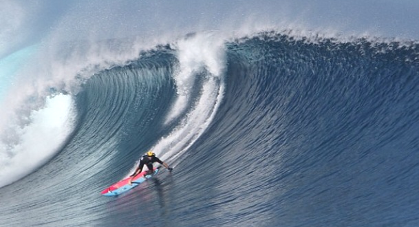 Big-Wave Surfing: A Life-or-Death Proposition