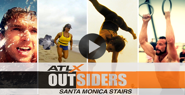 ATLX Outsiders: The Santa Monica Stairs