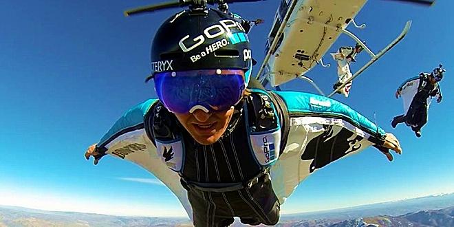 Human Flight Specialist, GoPro Team Up