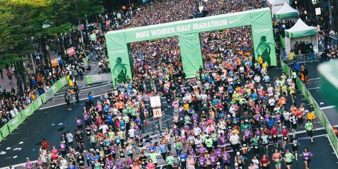 Women's Running Movement Taking Flight